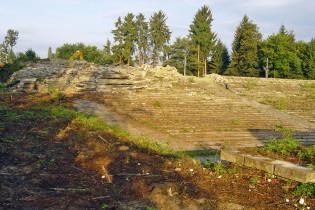 Amfiteáter Žilina - búranie